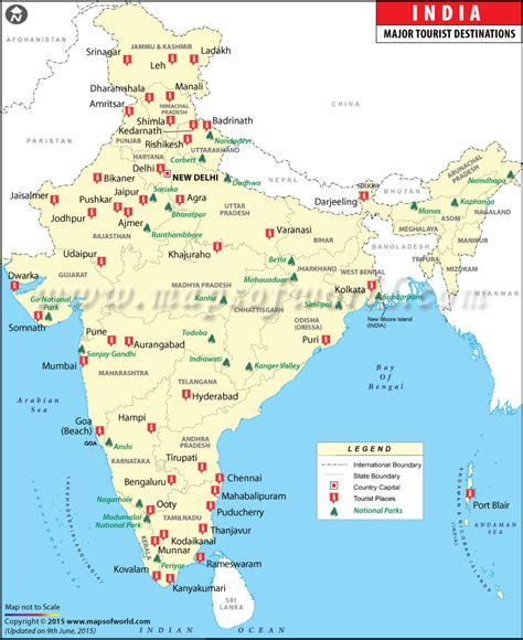 india travel map travel map  india