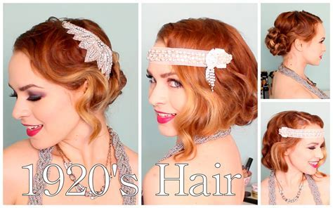 1920's Faux Bob, and Updo Tutorial!!   YouTube