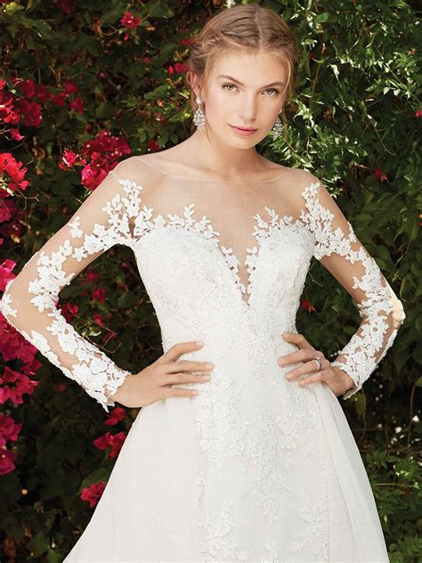 Wisteria Style 2270 June Peony Bridal Couture Wedding