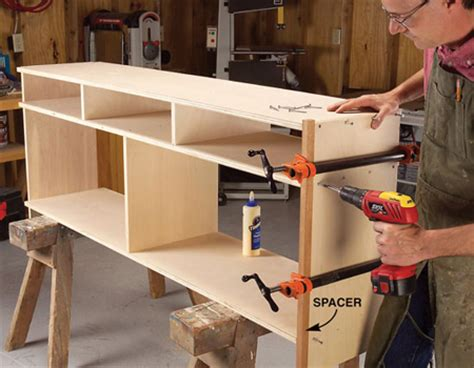 How To Make A Sideboard by Home Dzine Home Diy Diy How To Make A Shaker Sideboard