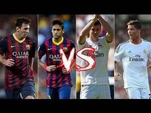 Bale & Ronaldo vs Neymar & Messi - YouTube