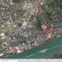 Dequindre Cut & Riverwalk : Scribble Maps