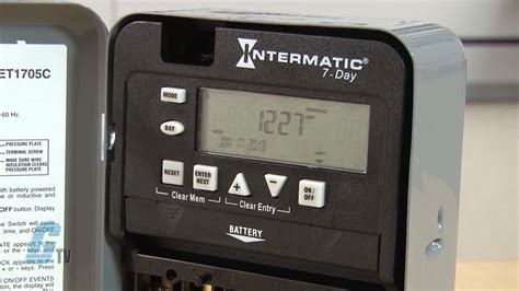 Intermatic Series Time Switch Timing Relay Youtube