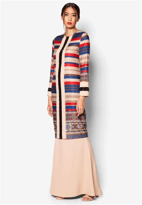 jovian mandagie  zalora art deco abira baju kurung