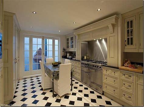 carrelage cuisine blanc et noir black and white floor tiles ideas with images