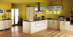 kuche wandfarbe gelb freshouse With kitchen colors with white cabinets with sectional wall art