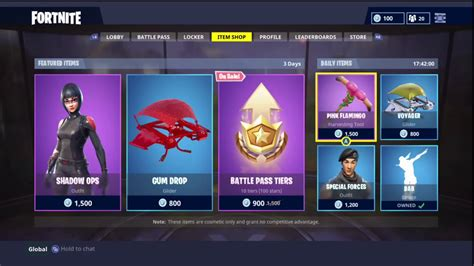 fortnite item shop today fortnite item shop 22 1 18