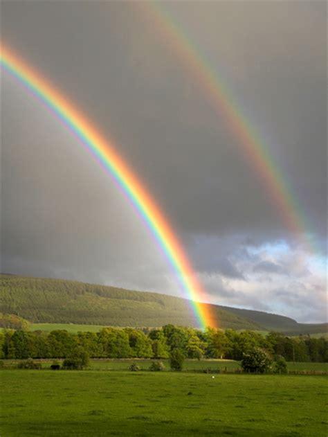 Bbc News Pictures Scottish Borders Tweed Valley Rainbows