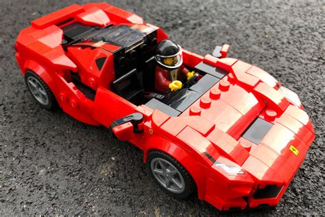 Replace missing or damaged building instructions. LEGO Speed Champions 76895 Ferrari F8 Tributo im Review