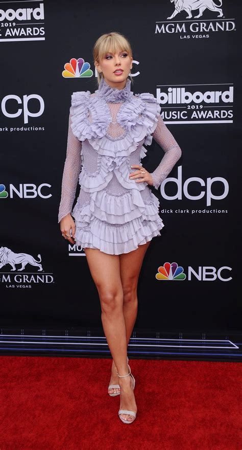 Showing off the legs at the 2019 Billboard Music Awards ...