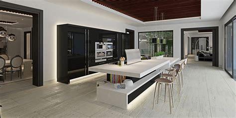villa cuisine luxueuse villa par ark architects san roque espagne