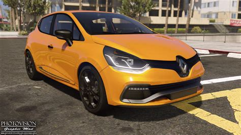 renault clio 4 tuning renault clio iv rs 2013 add on replace tuning