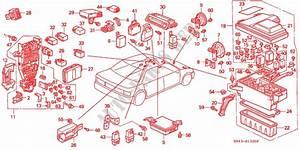 Fuse Box  Relay For Honda Cars Accord Dx 4 Doors 5 Speed
