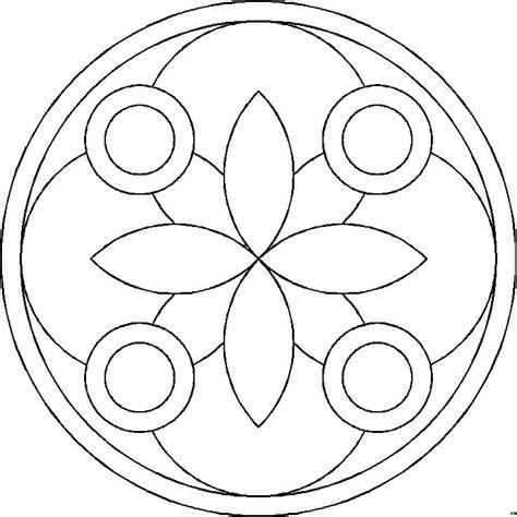 Kleurplaat Mandala Kleuters by Mandala Kleurplaat Makkelijk Zoeken Mandala
