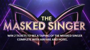 Masked Singer Ticket Taping Giveaway | KWKT - FOX 44