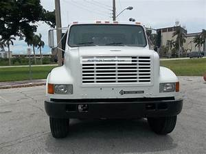 2001 International 4900 Flatbed Dt466e Florida
