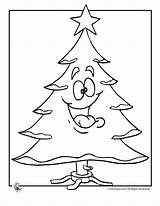 Coloring Tree Christmas Pages Merry Blank Santa Printer Send Button Special Crafts Activities Library Clipart Woojr Popular Woo Jr Colori sketch template