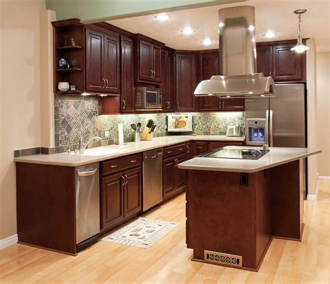 Kitchen Cabinets Mahogany   Home Designs