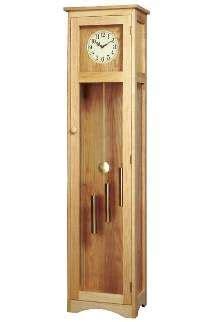 craftsman grandfather clock plan wooden clock wood