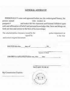 how to notarize a state city or county us police With notarized document template