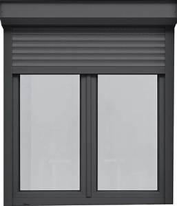 fenetre porte fenetre pvc alta color coffre volet With porte fenetre exterieur