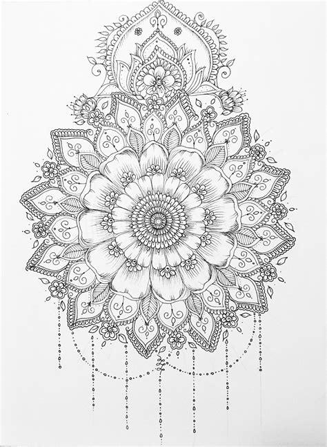 Pin by June Steward on Drawings/Paintings | Mandala tattoo, Mandala drawing, Mandala design