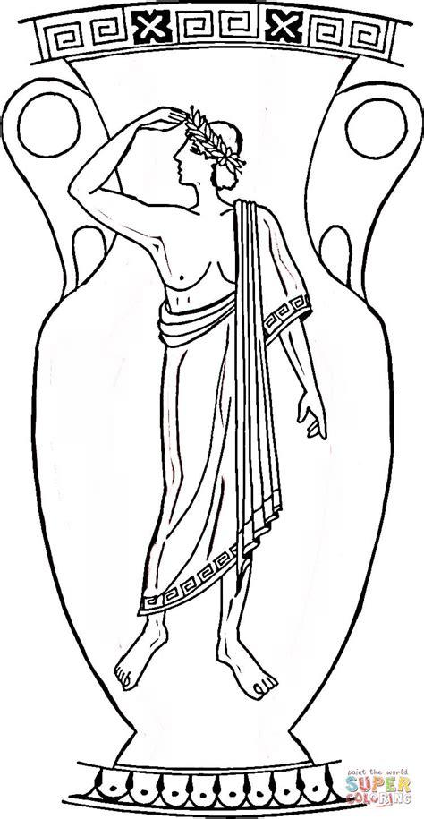disegno  vaso greco da colorare disegni da colorare