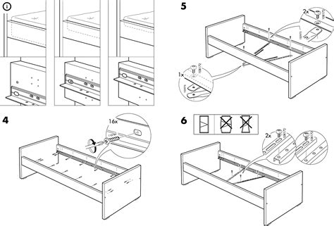 Ikea Bed Gebruiksaanwijzing by Handleiding Ikea Brekke Bed Pagina 6 6 Dansk
