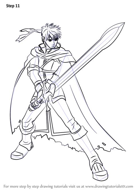learn   draw ike  super smash bros super smash bros step  step drawing tutorials