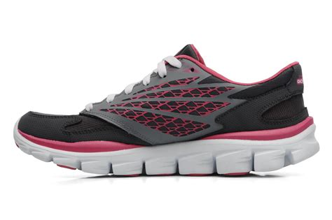Skechers Go Run Ride 13506 Sport Shoes In Grey At Sarenza