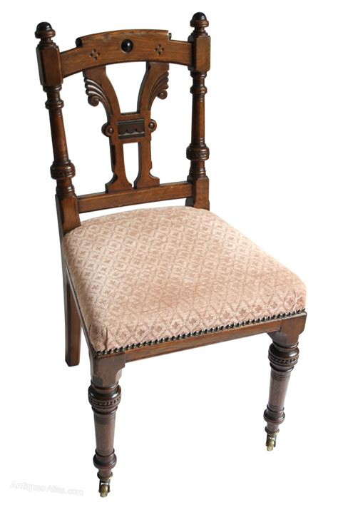 Set 6 Quality Oak Aesthetic Dining Chairs By Lambs