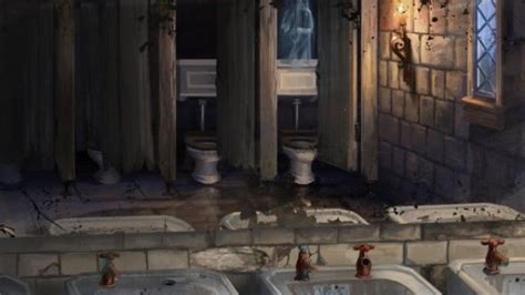 5 Bizarre Occurrences In A Hogwarts Bathroom Heart