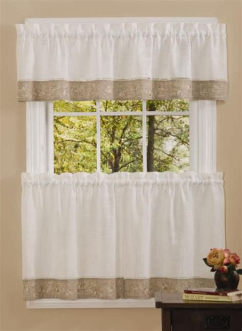 Sears Kitchen Window Curtains by Black Kitchen Curtains Sears