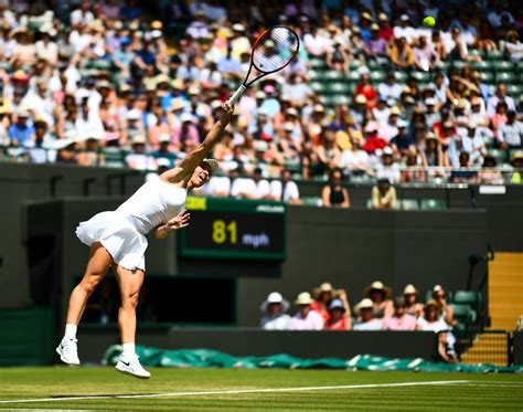 Another Day, Another Upset at Wimbledon: No. 1 Simona Halep FallsAnother Day, Another Upset at Wimbledon: No. 1 Simona Halep Falls