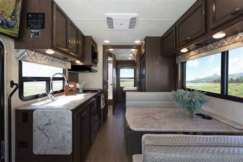 thor  ruv motorhome substantial upgrades