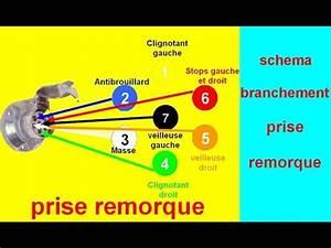 Cablage Attache Remorque : sch ma de branchement c blage prise remorque voiture youtube ~ Medecine-chirurgie-esthetiques.com Avis de Voitures