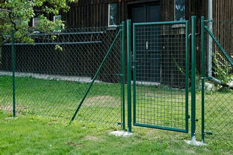 Maschendrahtzaun Dingo  Grün Beschichtet