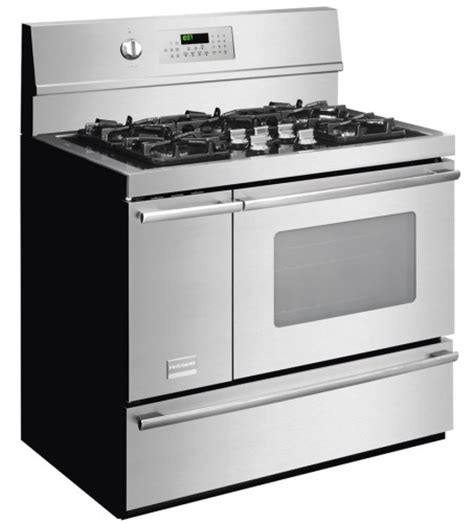 fpdf4085kf frigidaire professional 40 quot freestanding dual fuel range smudge proof stainless steel