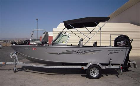 Lowe Boats For Sale California by 2013 Used Lowe Fishing Machine 165 Pro Aluminum Fishing