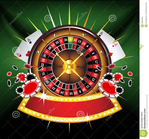 Ace Of Spade Wallpaper Casino Gold Framed Composition With Roulette Wheel Royalty Free Stock Images Image 23081949
