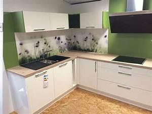 Arbeitsplatte Küche Eiche : elementa musterk che moderne hochglanz k che wei ~ A.2002-acura-tl-radio.info Haus und Dekorationen