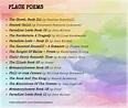 Place Poems