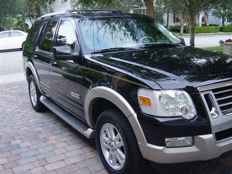 sell   ford explorer eddie bauer  owner clean