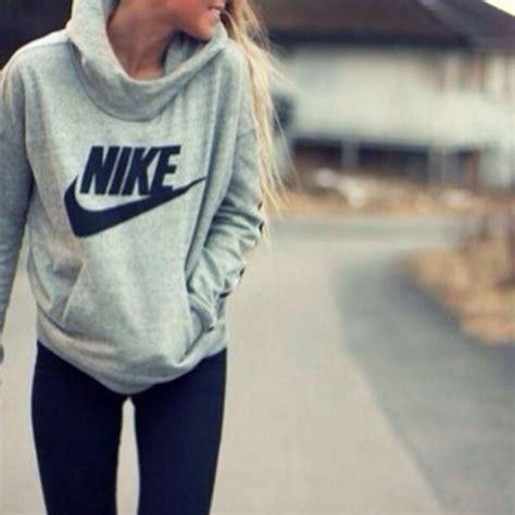 Grey nike sweater | Tumblr