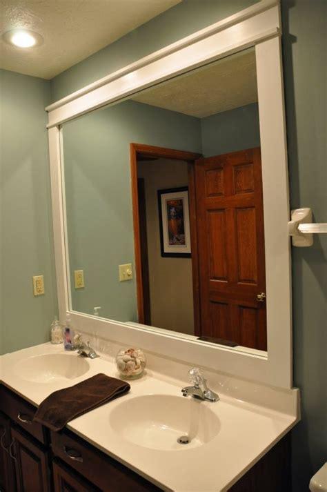 Bathroom Ideas Appealing Framed Mirrors For Bathrooms