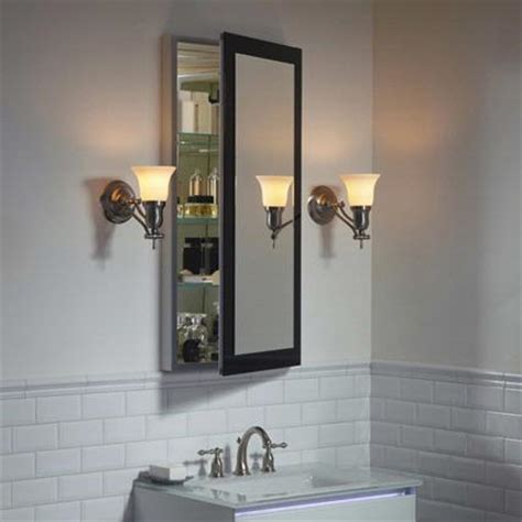 Robern Cabinet by Robern Decorative Framed Cabinet Dc2040d4mgsn Bath