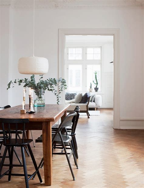 scandinavian dining room inspiration these four walls