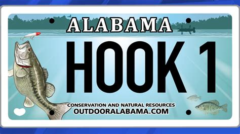 license plate fishing freshwater alabama plates whnt revealed fresh optimistic wff carp cautiously spread silver got state