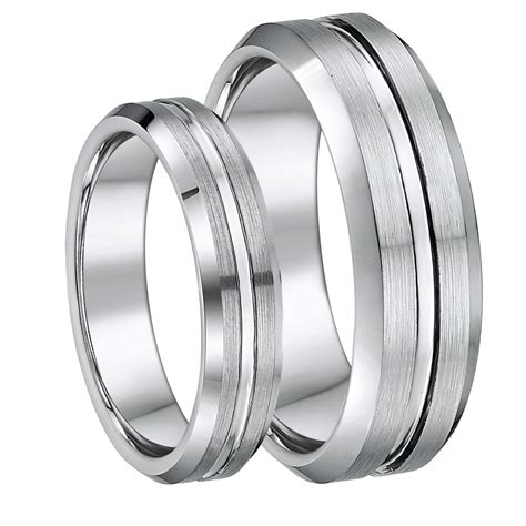 2019 tungsten wedding bands sets his and hers