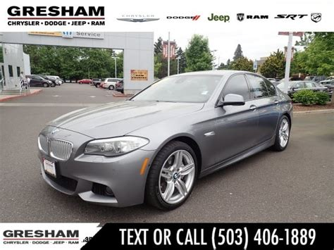 Used Bmw 5 Series For Sale In Portland, Or